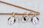 Metal Stitch Markers - Dog Mix 1