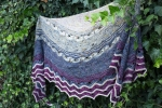 Torun Shawl  - digital knitting pattern - PDF