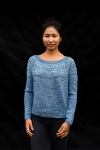 Rippling Around - digital knitting pattern - PDF