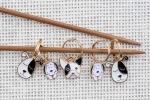 Metal Stitch Markers - Dog Mix