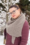 Di Shawl - digital knitting pattern - PDF