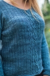 Blue Danube - digital knitting pattern - PDF