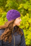 Keep Cute Hat - digital knitting pattern - PDF
