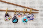 Metal Stitch Markers - Mix 1