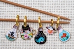 Metal Stitch Markers - Mix 4