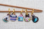 Metal Stitch Markers - Mix 6