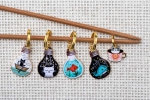 Metal Stitch Markers - Mix 7