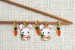 Metal Stitch Markers - Bunny 1
