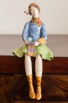 Figurine - Knitting Lady 3