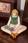 Figurine - Knitting Lady 6