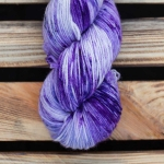 Cozy Merino - Purple Snowman
