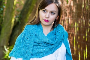 Leoch Shawl - digital knitting pattern - PDF