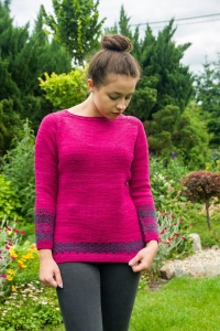 Wave To Go - digital knitting pattern - PDF