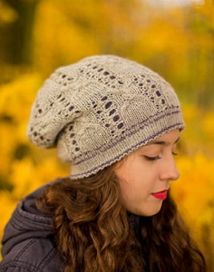 Keep Warm Hat - digital knitting pattern - PDF