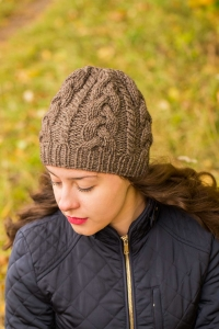 Keep Cool Hat - digital knitting pattern - PDF