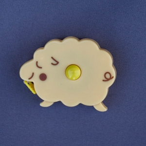 Cute retractable tape measure - Bear Light blue (1)
