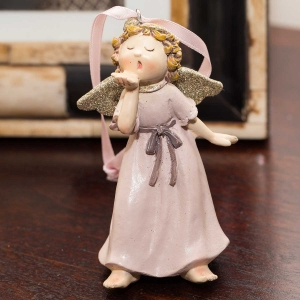 Figurine - Pink Angel