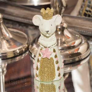 Figurine - Mouse with Pink Star