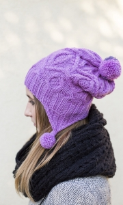 Uszatka Hat - digital knitting pattern - PDF