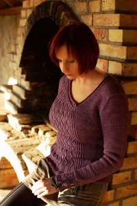 Evocative - digital knitting pattern - PDF