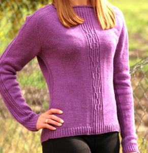 Anna Mae - digital knitting pattern - PDF