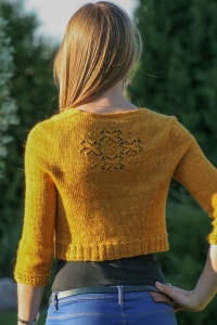 Secrecy - digital knitting pattern - PDF