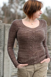 Moyen Age - digital knitting pattern - PDF