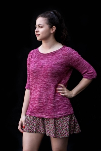 Punchline - digital knitting pattern - PDF