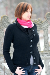 Ruisseaux - digital knitting pattern - PDF