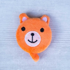 Cute retractable tape measure - Bear Orange