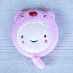 Cute retractable tape measure - Piggy